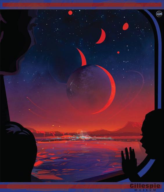NASA historic poster