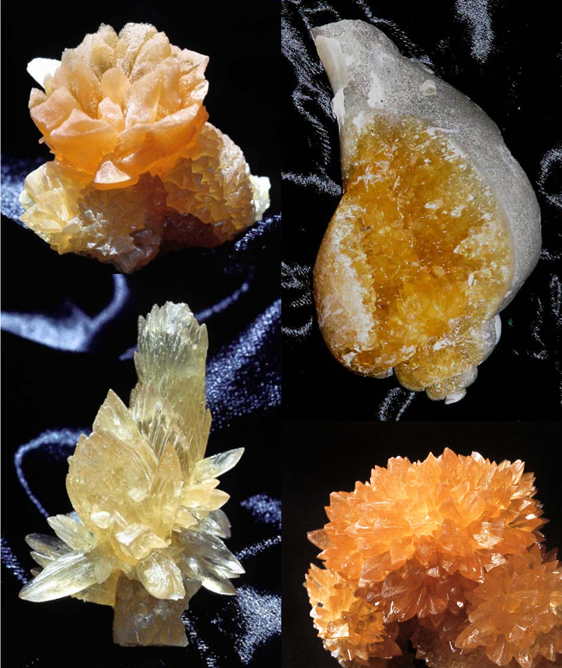 Florida Calcite specimens