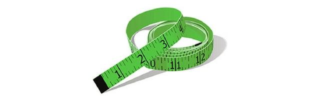 Green Measuring Tape