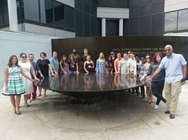 Summer Civil Rights Travel Course Group