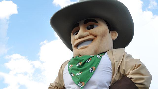 Mascot John B. Stetson