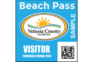 Volusia County Beach and Parks Pass