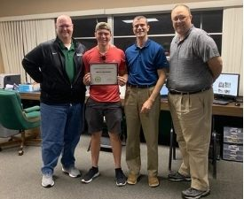 Student Employee of the Month Presentation- Athletic Communications