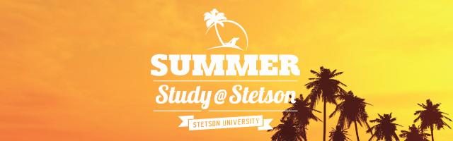 Summer Study @ Stetson Banner