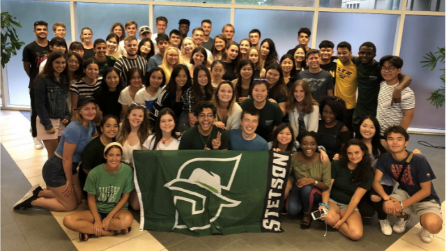 Group Orientation Picture from Fall 2019