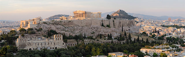 Aerial Image of Athens