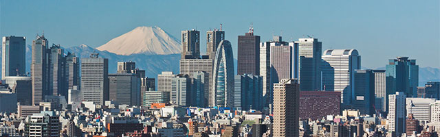 Aerial Image of Tokyo